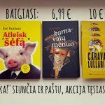 Knygų akcija iki kovo 15 d., ir paskutiniai vienos jų egzemplioriai